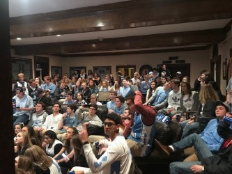 Super Bowl and UNC – Duke Watch Party