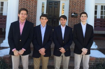 Chapter Welcomes 4 New Pledges
