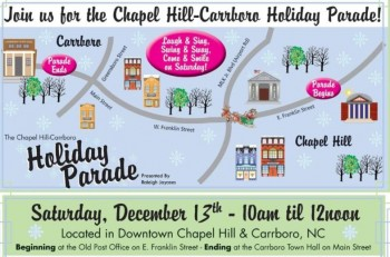 Celebrate the Holidays in Chapel Hill